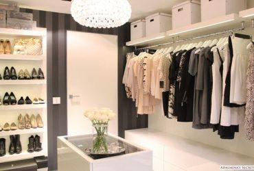 Esquema prático para organizar closet e armário