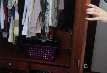 Meu cantinho – organizando o guarda-roupa
