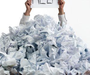 Organizando a sua papelada