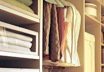 Produtos organizadores de closet e armário