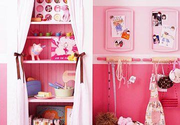 Inspiração do dia- improvisando no quarto da menina