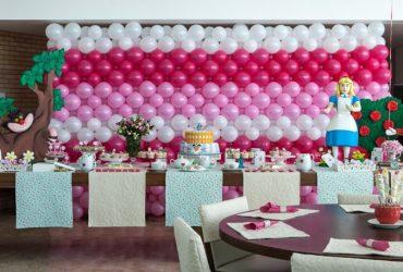 Organizando e decorando o aniversário da minha filha