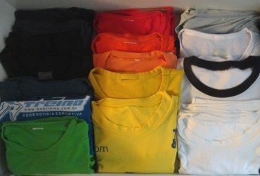 """Como dobrar – camisetas """"molinhas"""" de dry fit"""