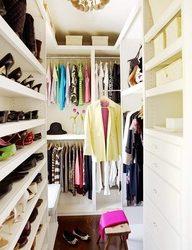 Inspiração do dia- closet em ordem