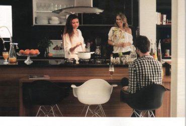 Minha cozinha na revista Casa Claudia