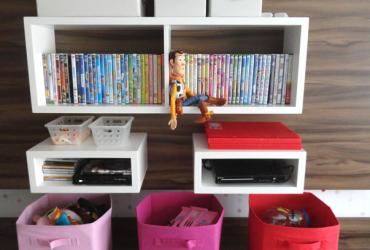 Dicas lá de casa- organizando os brinquedos e controlando a bagunça!