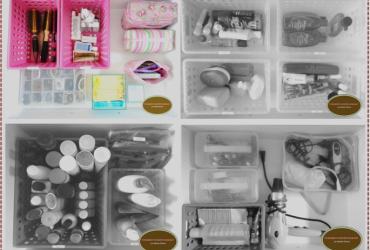 Dicas lá de casa: gavetas do banheiro organizadas e práticas!