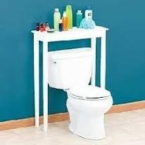 Ganhe espaços no banheiro gastando pouco