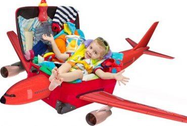 Dicas para arrumar a mala de viagem das crianças