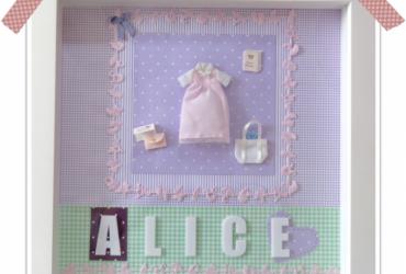 52 objetos- objeto 13 (quadro para a porta da maternidade)