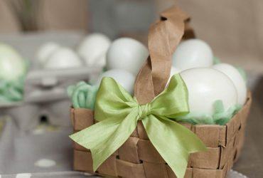 Faça você mesmo: cestas fofas de Páscoa