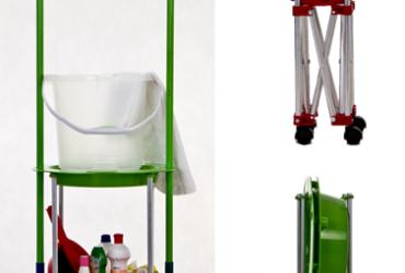 Aprovado: carrinho de limpeza compacto e útil