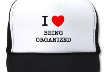 Um pouco de organização não faz mal a ninguém