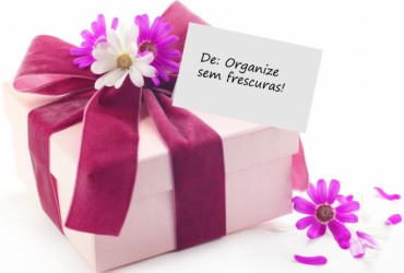 Sorteio de aniversário do blog Organize sem frescuras!