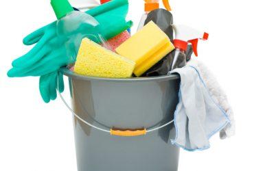 Como limpar- utensílios de limpeza