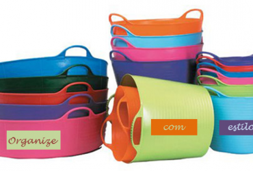 As várias utilidades dos Tubtrugs (baldes coloridos)
