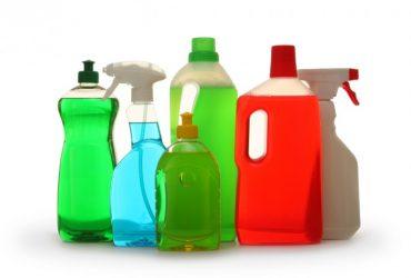 Produtos de limpeza da casa e das roupas