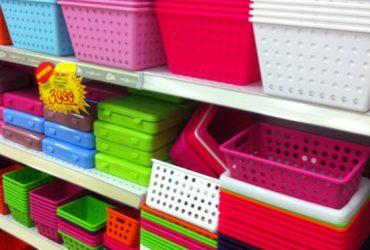 Organizando a casa com produtos de loja de 1,99 (parte 1)