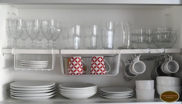 Organize sem Frescuras  Rafaela Oliveira » Arquivos » Dicas lá de casa cozi # Como Arrumar O Armario De Cozinha