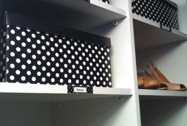 Dicas lá de casa- produtos organizadores de closet