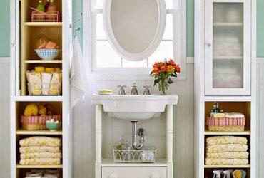 Ideias criativas para ganhar mais espaços no banheiro