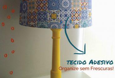 Ideias criativas utilizando tecido adesivo