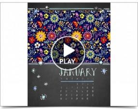 Click to play this Smilebox calendar