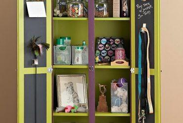 Ideias para organizar os itens dos pets