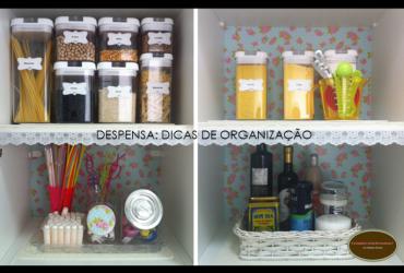 Vídeo: Organizando a minha despensa