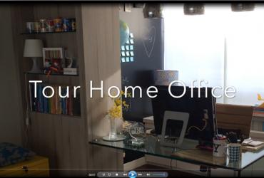 Vídeo: tour pelo meu escritório