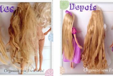 Dicas caseiras de como cuidar e alisar o cabelo das bonecas