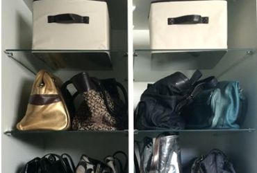 Vídeo: Como organizar o closet – bolsas e acessórios