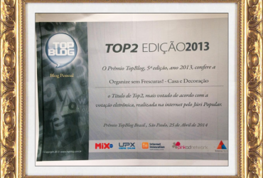 Resultado prêmio Top Blog 2013
