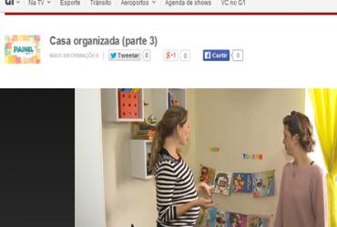Programa Painel RPC TV : organização das tarefas domésticas e organização do quarto dos brinquedos
