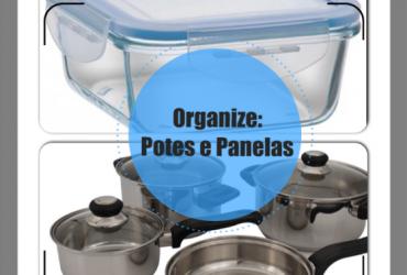 Dicas de organização de panelas e potes de cozinha para o programa Ver Mais (RIC Record)