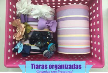 Faça Você Mesmo: organizador de tiaras com canos de PVC