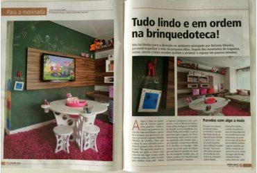 Dicas lá de casa: brinquedoteca na revista Minha Casa