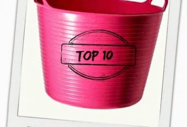Os 10 utensílios TOP da limpeza