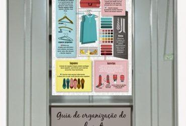 Guia de organização do Closet e Armário