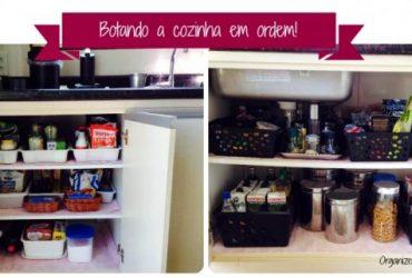 Meu Cantinho: botando a cozinha em ordem!