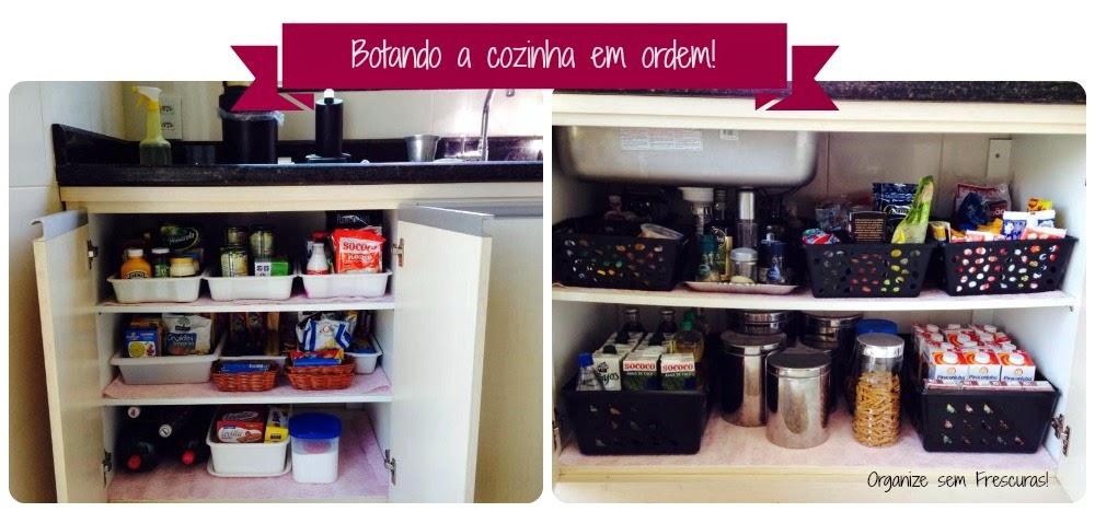 Organizacao de armario de cozinha pequeno for Como organizar un armario pequeno