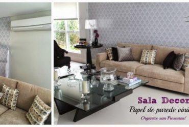 Vídeo: Salas Tour- Sala de Entrada: papel de parede vinílico e dicas de decoração