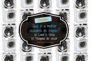 Vídeo Teste- Qual é a melhor máquina para secar as roupas? ( Lava e Seca X Máquina de Secar)