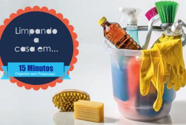 Matéria para o site da editora Abril – organize sua rotina para limpar a casa em até 15 minutos
