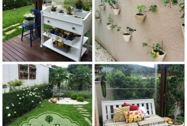 Video- Jardim Tour: Varanda Decor, flores e plantas