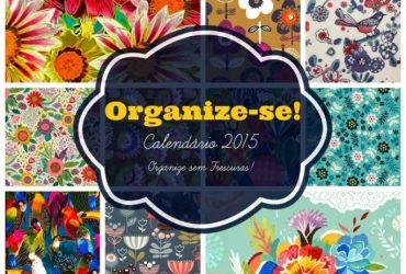 Calendário Decor (de mesa) 2015 para imprimir