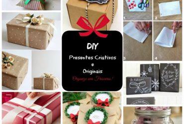 Faça você mesmo – embalagens de presentes criativas, baratinhas e lindas