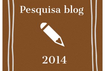 Pesquisa do blog 2014