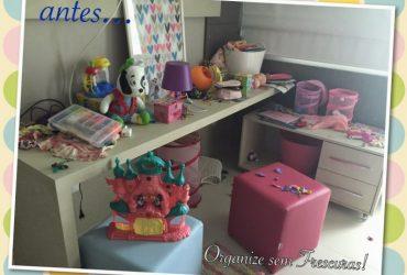 Organização express: quarto de brinquedos