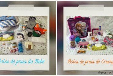 Vídeo: O que levar na bolsa de praia das crianças e do bebê